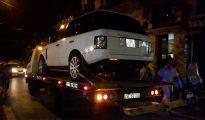 Chiếc xe gây ra tai nạn