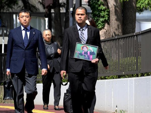 Bị cáo Shibuya Yasumasa, 47 tuổi, bị bắt hồi năm ngoái vì tình nghi sát hại bé Lê Thị Nhật Linh