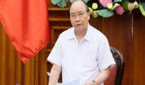 Thủ tướng Nguyễn Xuân Phúc trong phiên họp Chính phủ ngày 9/7.