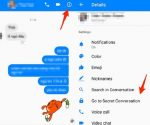 Facebook đã bổ sung thêm tính năng Secret Conversation (trò chuyện bí mật) cho người dùng Messenger