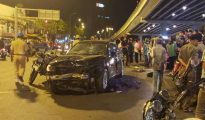 Tài xế say xỉn gây tai nạn liên hoàn ở Hàng Xanh khiến nhiều người phẫn nộ