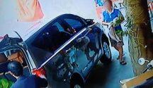Đại gia lái xe sang mua bánh gai tiện tay trộm chó của chủ quán