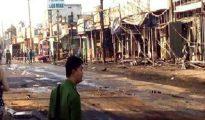 Xe bồn xăng lao vào nhà dân làm 6 người chết, 19 nhà bị thiêu rụi