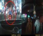 Nam thanh niên đi xe phân khối lớn chặn đầu ô tô chở người bệnh đi cấp cứu