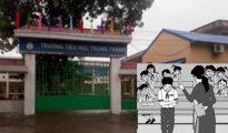 Cô giáo ở Thái Nguyên phủ nhận việc phạt học sinh tự tát 50 cái