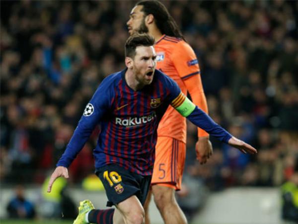 Barca tiến vào tứ kết với trận thắng hủy diệt 5-1