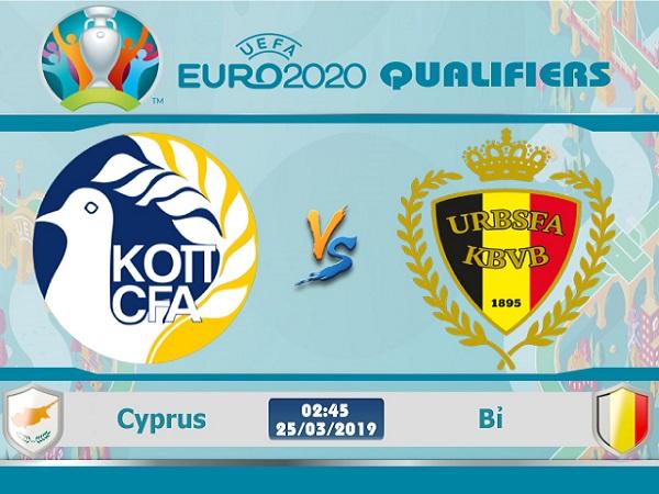 Dự đoán Cyprus vs Bỉ, 2h45 ngày 25/03