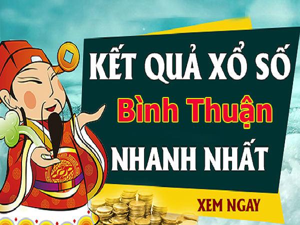 Dự đoán kết quả XS Bình Thuận Vip ngày 14/11/2019