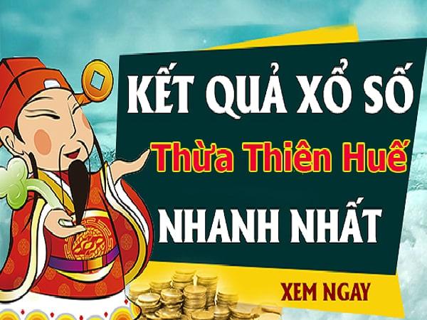 Soi cầu XS Thừa Thiên Huế chính xác thứ 2 ngày 4/11/2019