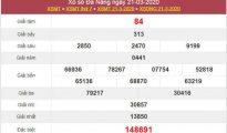 Soi cầu VIP XSDNG 28/3/2020 - KQXS Đà Nẵng thứ 7