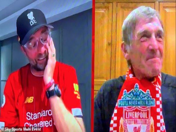 HLV Klopp khóc khi Liverpool vô địch trước 7 vòng đấu