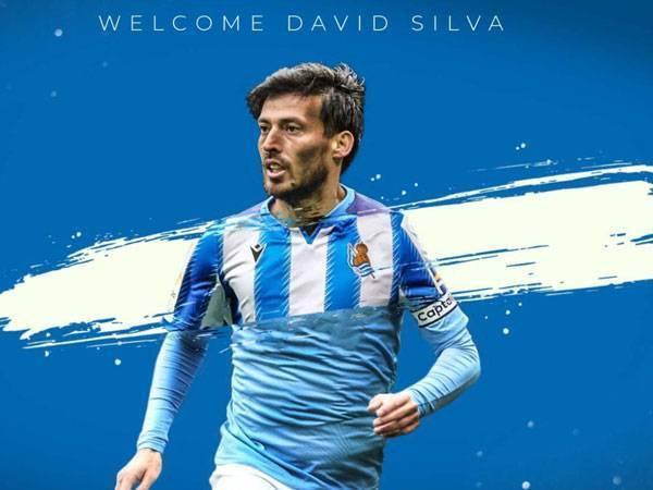 Chuyển nhượng tối 18/8: David Silva gia nhập Real Sociedad