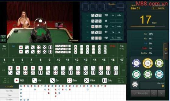 Cách tham gia chơi game tài xỉu M88