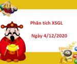 Phân tích XSGL 4/12/2020