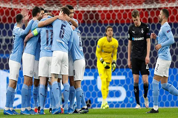 Bóng đá Anh ngày 17/3: Man City tiến vào Tứ kết C1
