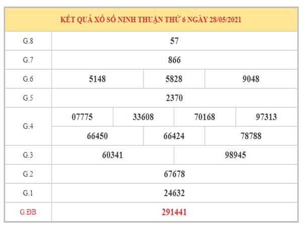 Phân tích KQXSNT ngày 4/6/2021 dựa trên kết quả kì trước