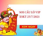 Soi cầu lô VIP KQXSKT 25/7/2021