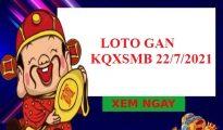 Loto gan KQXSMB 22/7/2021