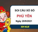 Soi cầu KQXSPY ngày 20/9/2021