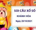 Soi cầu KQXSKH ngày 20/10/2021